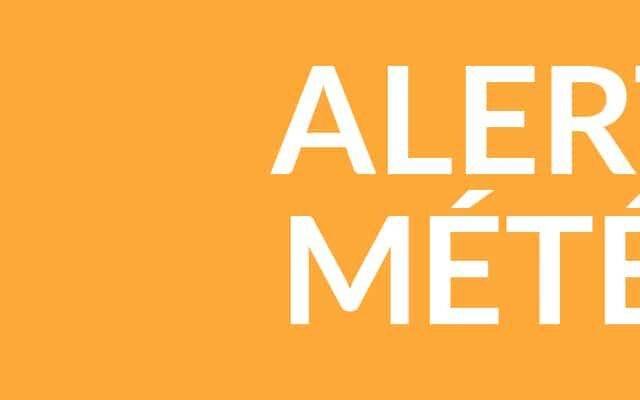 ALERTE MÉTÉO – ORAGES